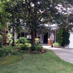 Grass cutting services for a client in North Toronto