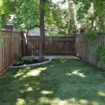 A sod and patio installation by Gardenzilla Lawn & Garden on the Danforth