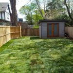 A complete sod installation of a thinned out, neglected lawn by Gardenzilla lawn and garden
