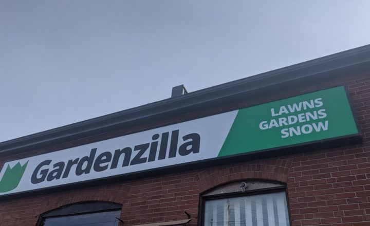 Gardenzilla Yard Sign