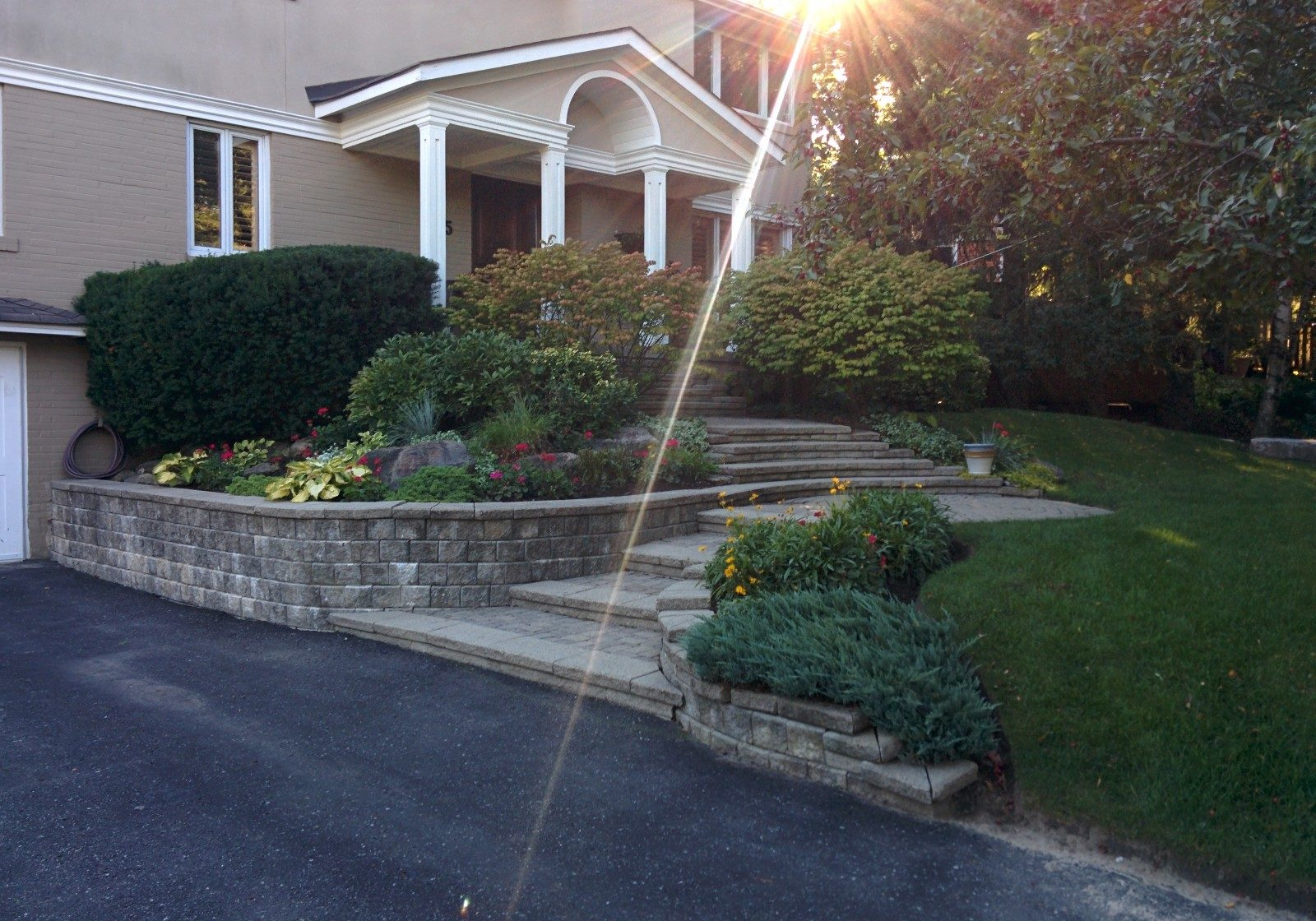 Landscape staging services from Gardenzilla